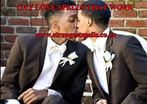 Gay love spells that work