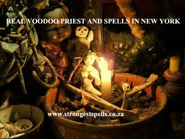 Real voodoo priest and spells in New York