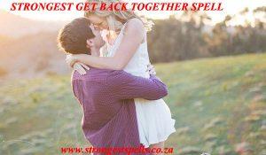 Strongest get back together spell