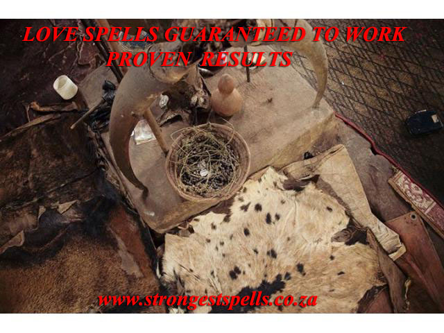 Love spells guaranteed to work with proven results