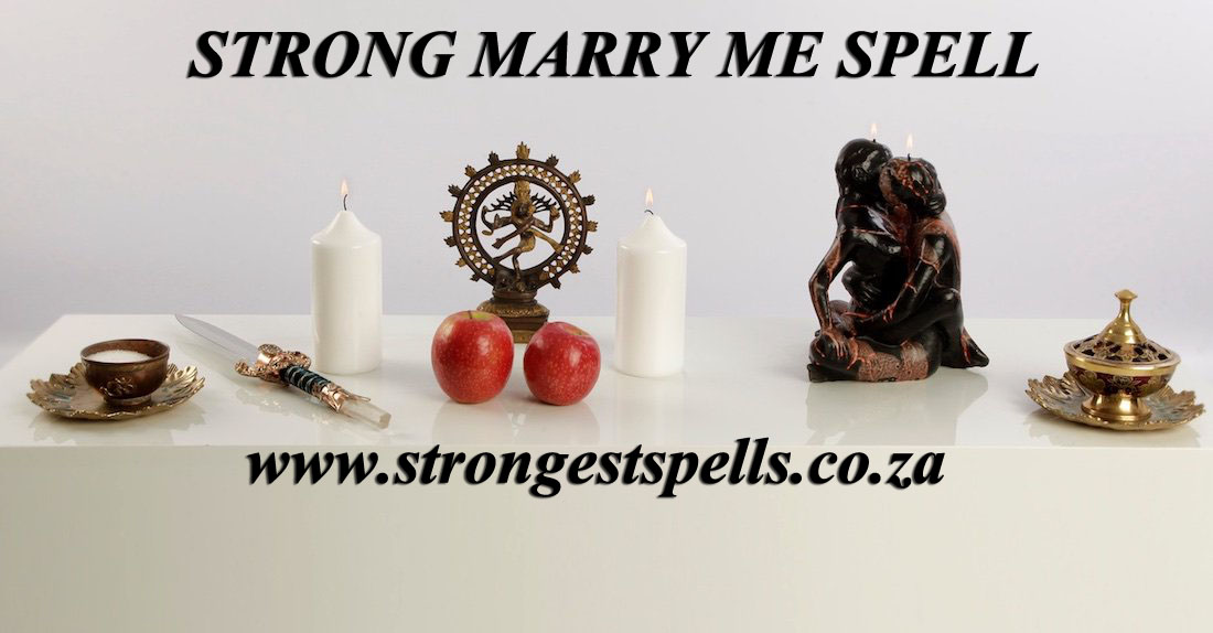 Strong marry me spell